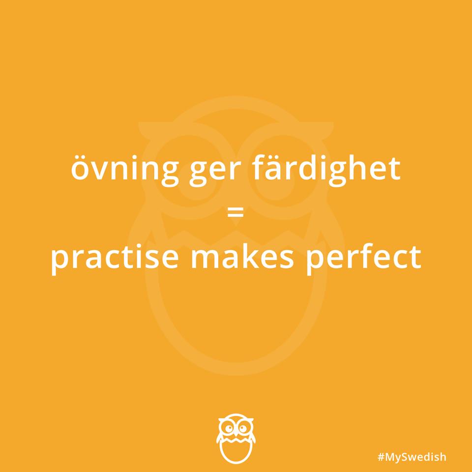 Practice Makes Perfect Swedish Translation Swedish Language