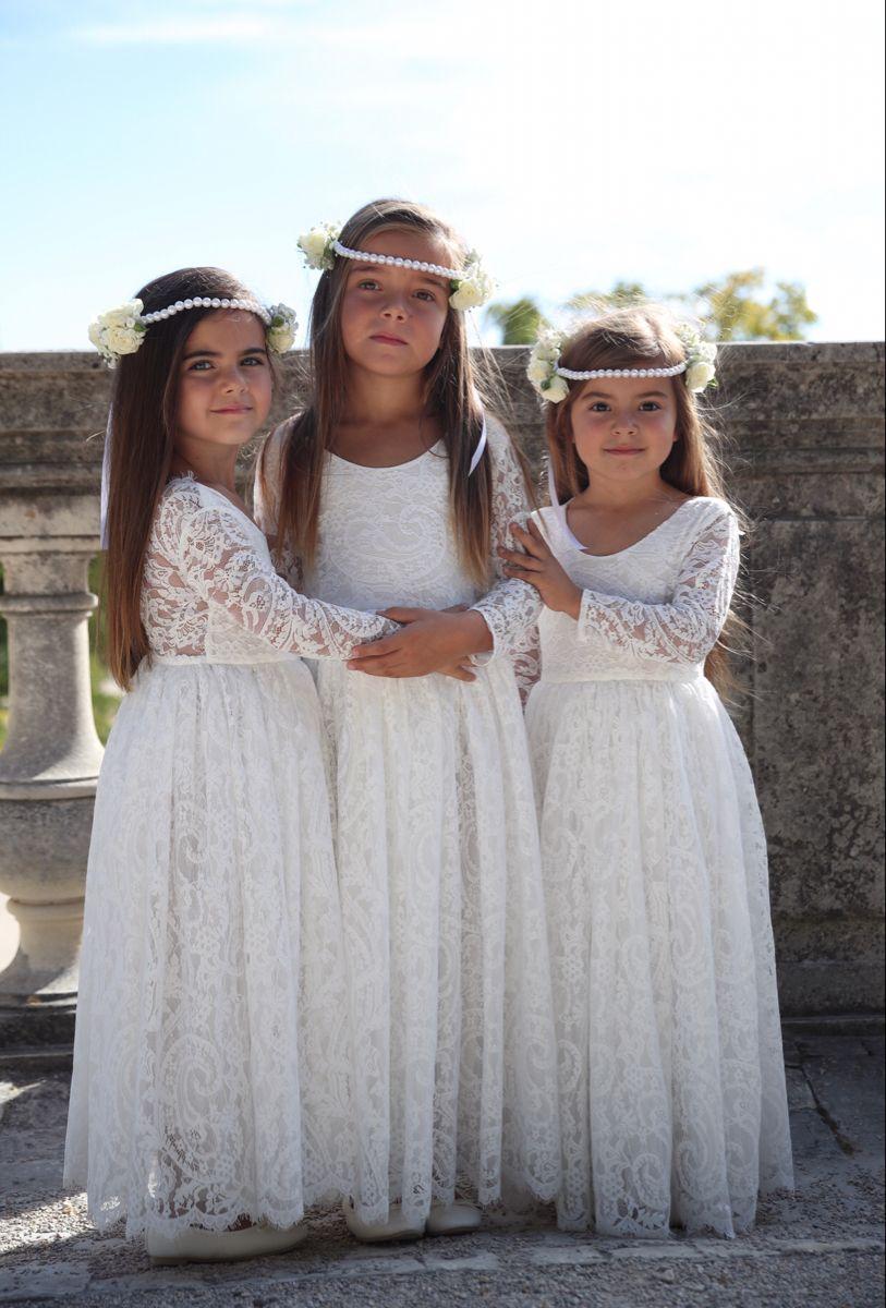 Robe Gabriella Momemarket Robe De Demoiselle D Honneur Robe Enfant Mariage Mariage Princesse