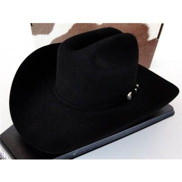 Resistol Cowboy Hat 4X Beaver Fur Felt Black Turner RF04090740-TRNR ... fbaef7cdc24