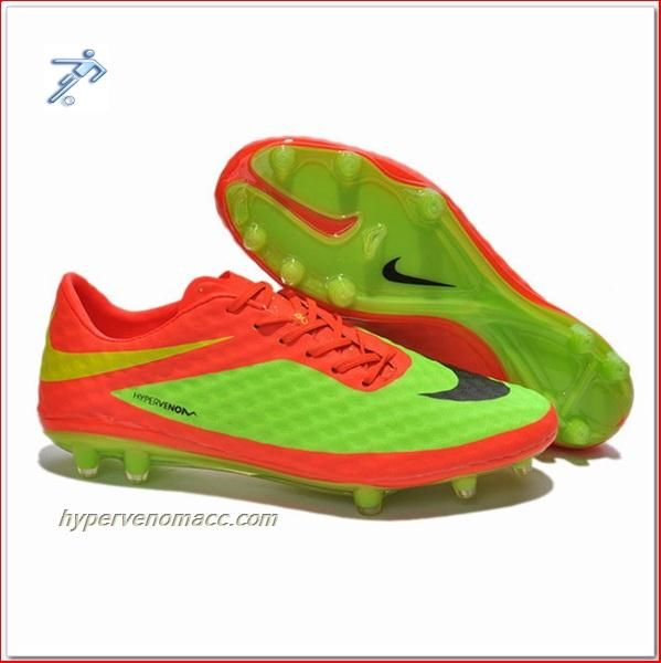 87ea7f847041 Football Boots Customize Your Own Nike Hypervenom Ronaldo FG ACC Junior  Pink Yellow Cleats