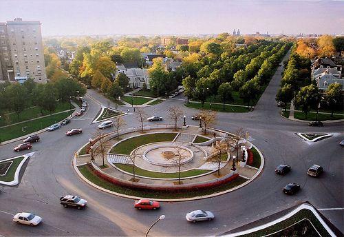 Gates Circle Chapin Parkway Buffalo Ny Streetscape Design Ecology Design Landscape Design