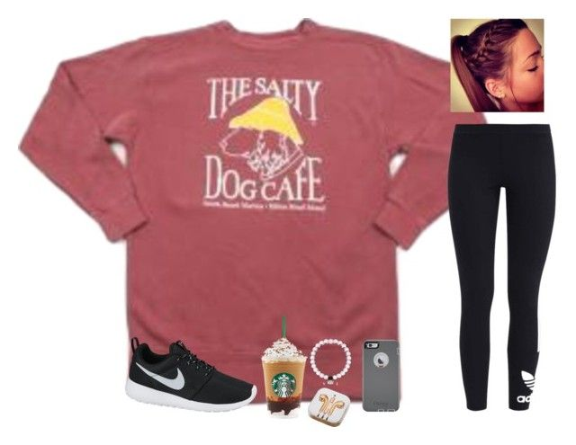 """What's your favorite song?"" by raquate1232 ❤ liked on Polyvore featuring adidas Originals, OtterBox, NIKE and PhunkeeTree"