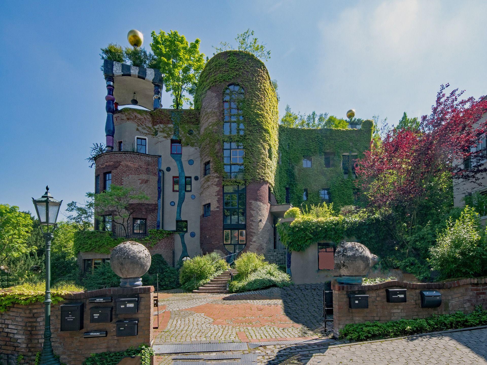 Taunus Hesse Bad Soden Germany Hundertwasser House