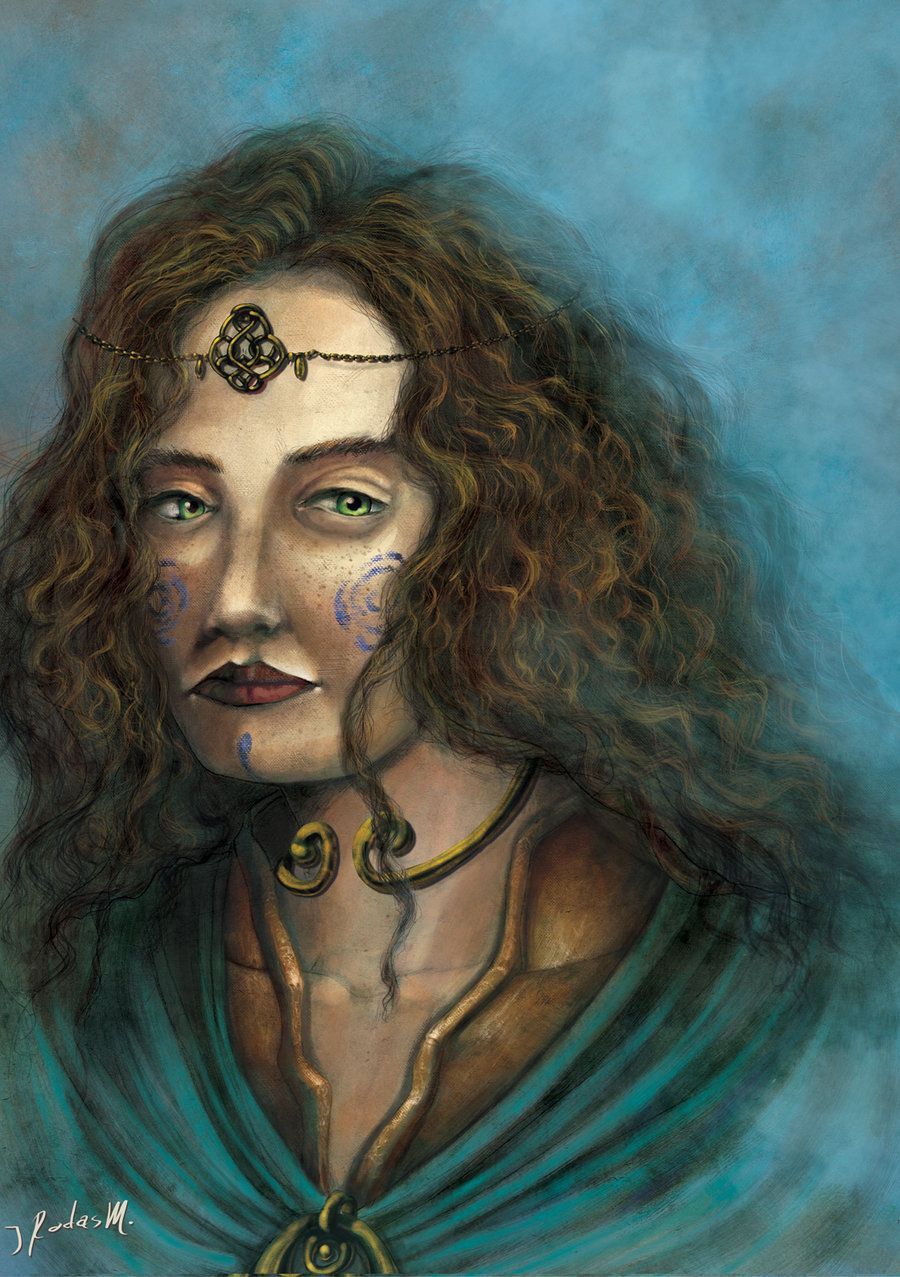 Boudicca Celtic Warrior Queen by JosueRodas.deviantart.com on ...
