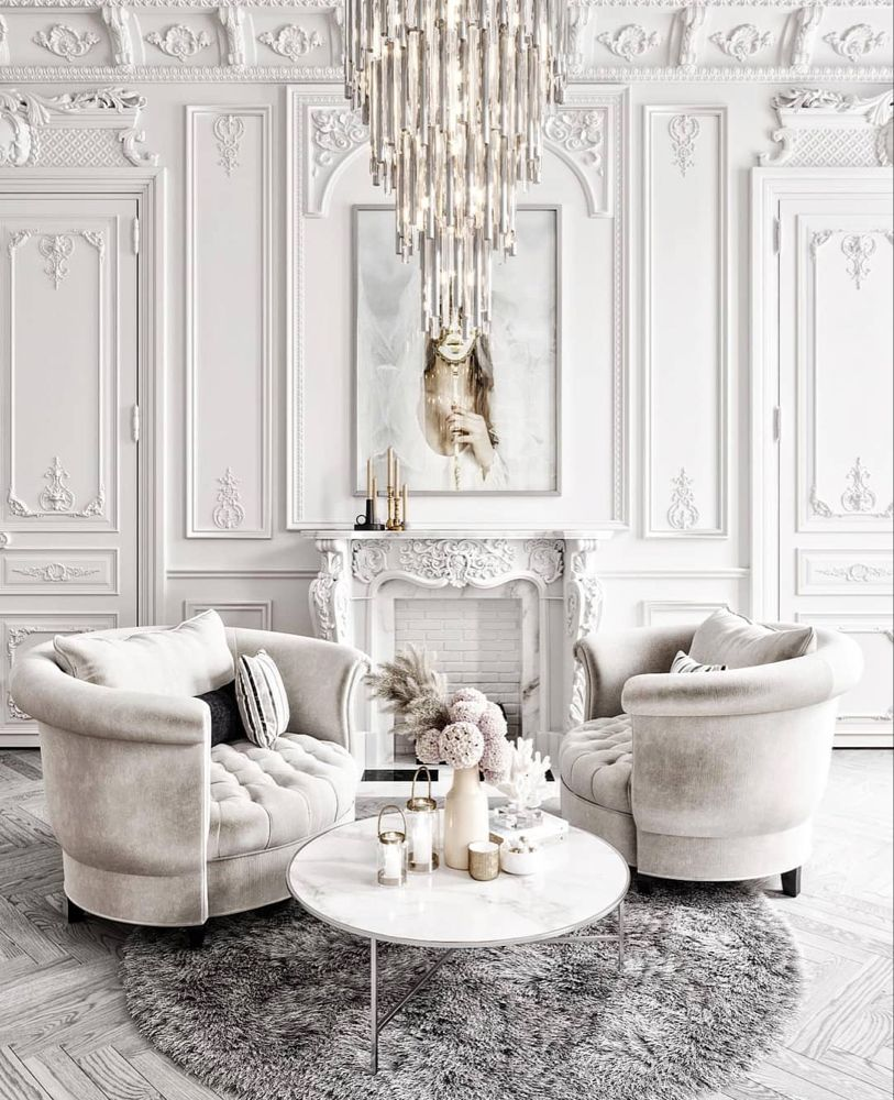 World Exclusive Homes Design On Instagram Heavenly White Yay Or Nay Design By Serosez Luxury Living Room Living Room Designs Cheap Home Decor