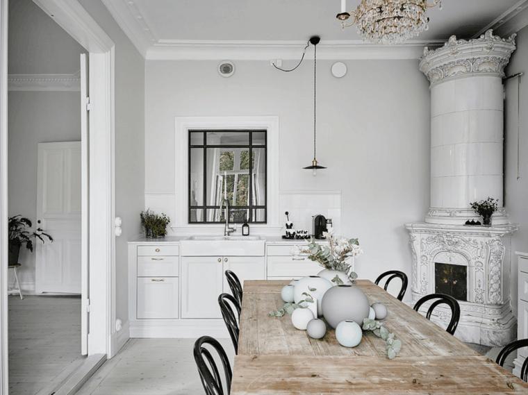 Nordischer Stil für die Innenausstattung - neueste Trends Dekoration