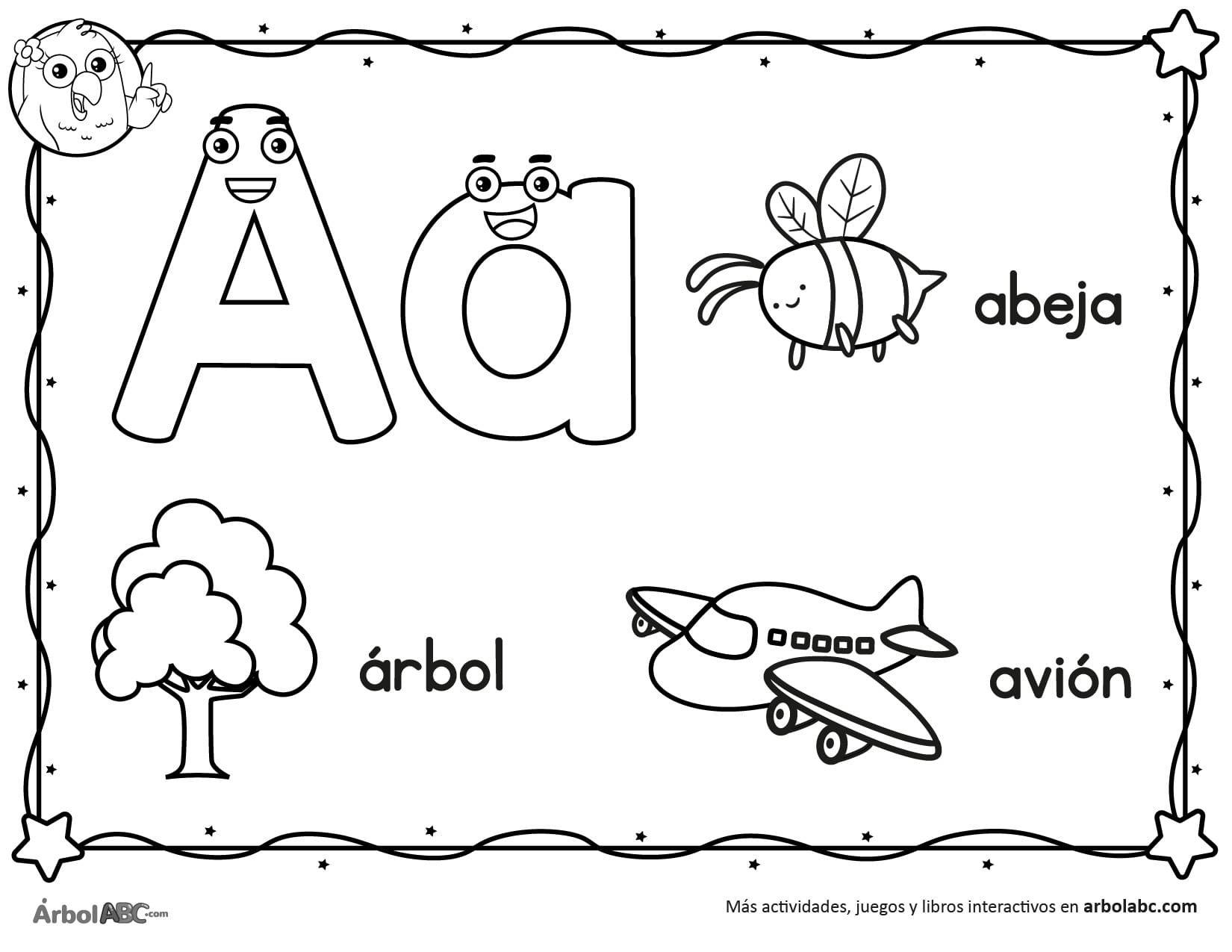 Worksheets Spanish Letter V
