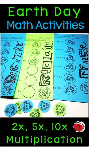 Earth Day Multiplication Activities | Multiplication worksheets ...