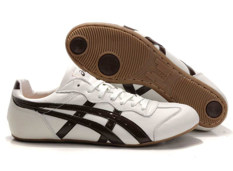 ASICS Tiger Whizzer Lo Sport Casual Shoes Beige Coffee [TS