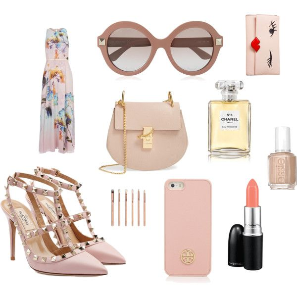 Yohanna's Mother's day Cravings by heelsandbibs on Polyvore featuring Wallis, Valentino, Chloé, Kate Spade, Tory Burch, MAC Cosmetics, Chanel and Essie