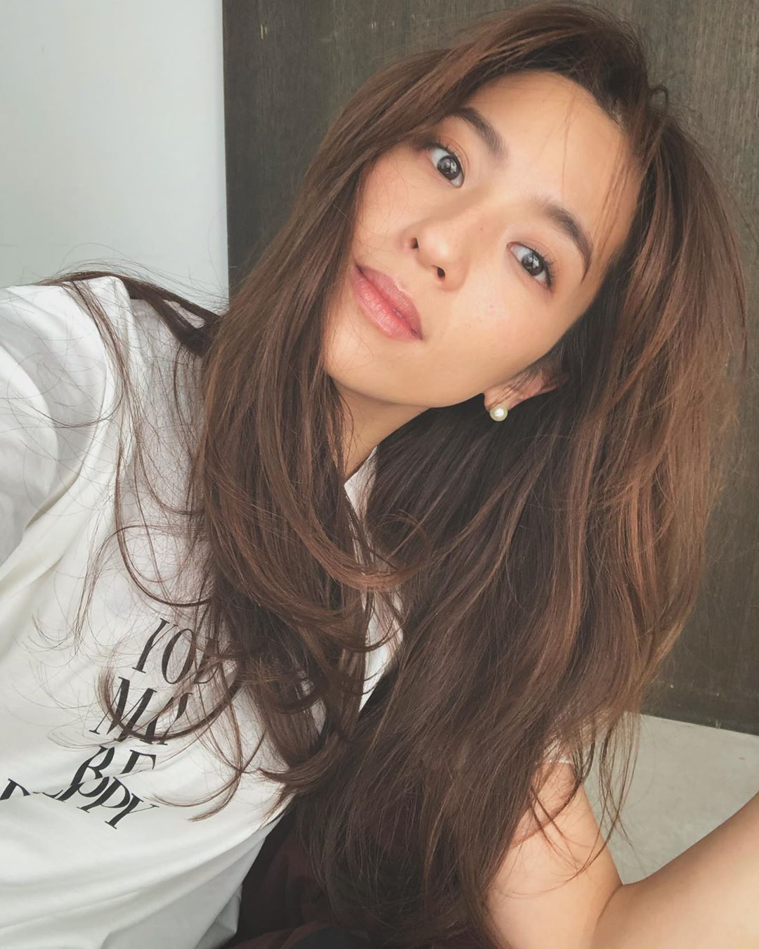 中村 アン On Instagram 髪伸びたなぁ 長いので色は明るめで全体
