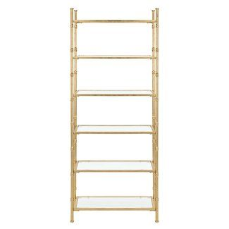 Everly Quinn Kien 6 Tier 68 Etagere Etagere Bookcase Vertical