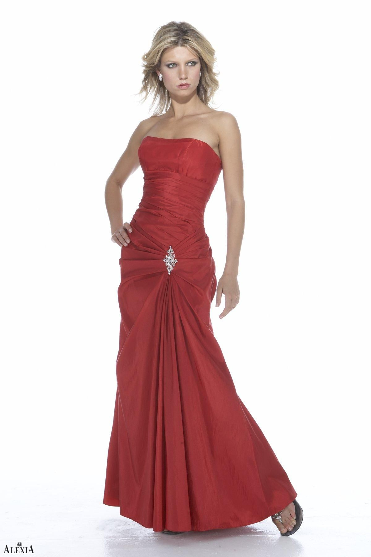Bridal gowns with red accents  Alexia    In Stock  Free Shipping  Collection