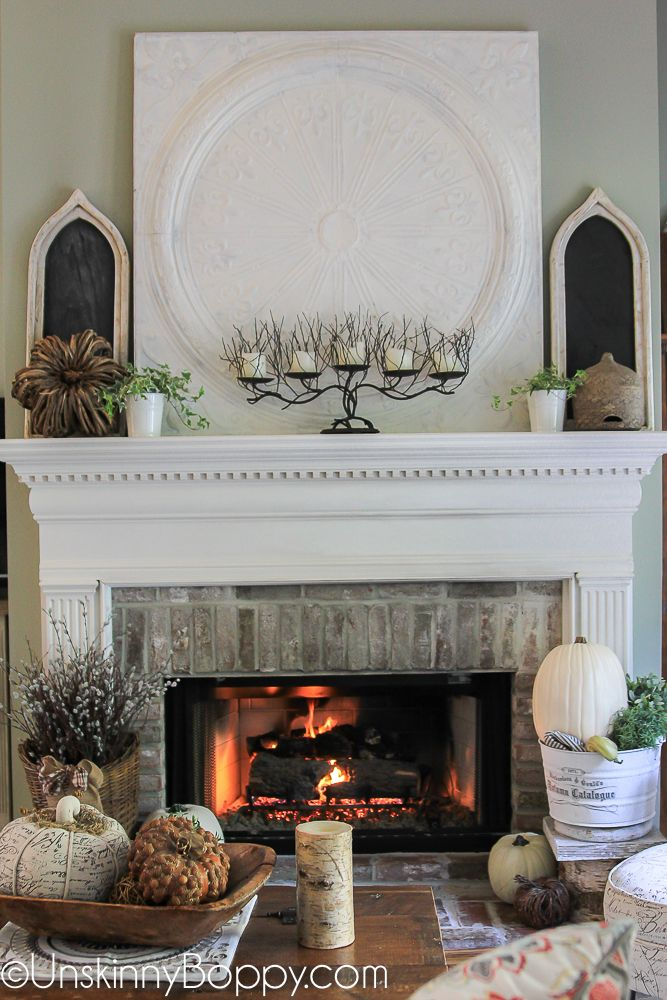 Welcome Fall! Time to Decorate! - Unskinny Boppy Do It Yourself