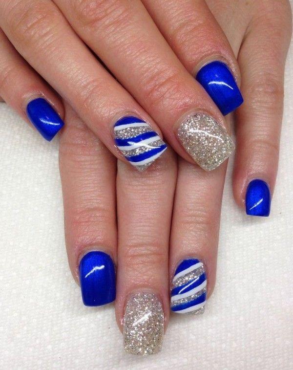 Nice Blue Almond Acrylic Nails Art Designs 2016 Nail And Hair Care Tips Tricks By Nail2hair