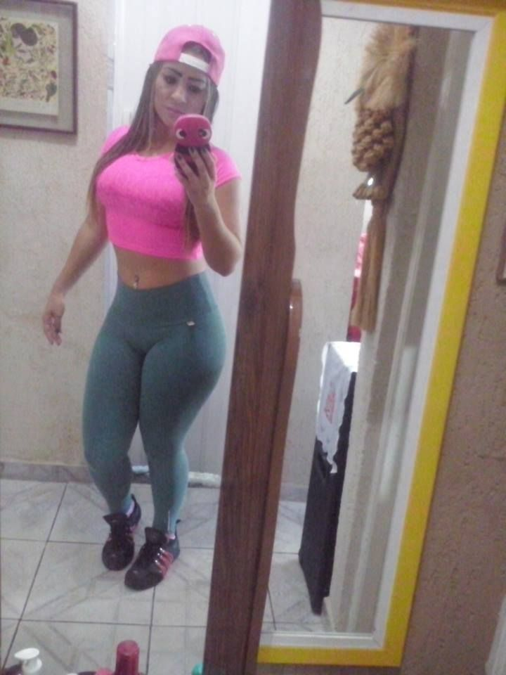hot latina girl yoga pants