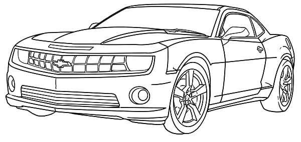 Cool Camaro Cars Coloring Pages Best Place To Color In 2020 Cars Coloring Pages Race Car Coloring Pages Camaro Car