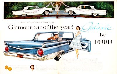 1959 Ford Fairlane Galaxie 500 004007 With Images Ford