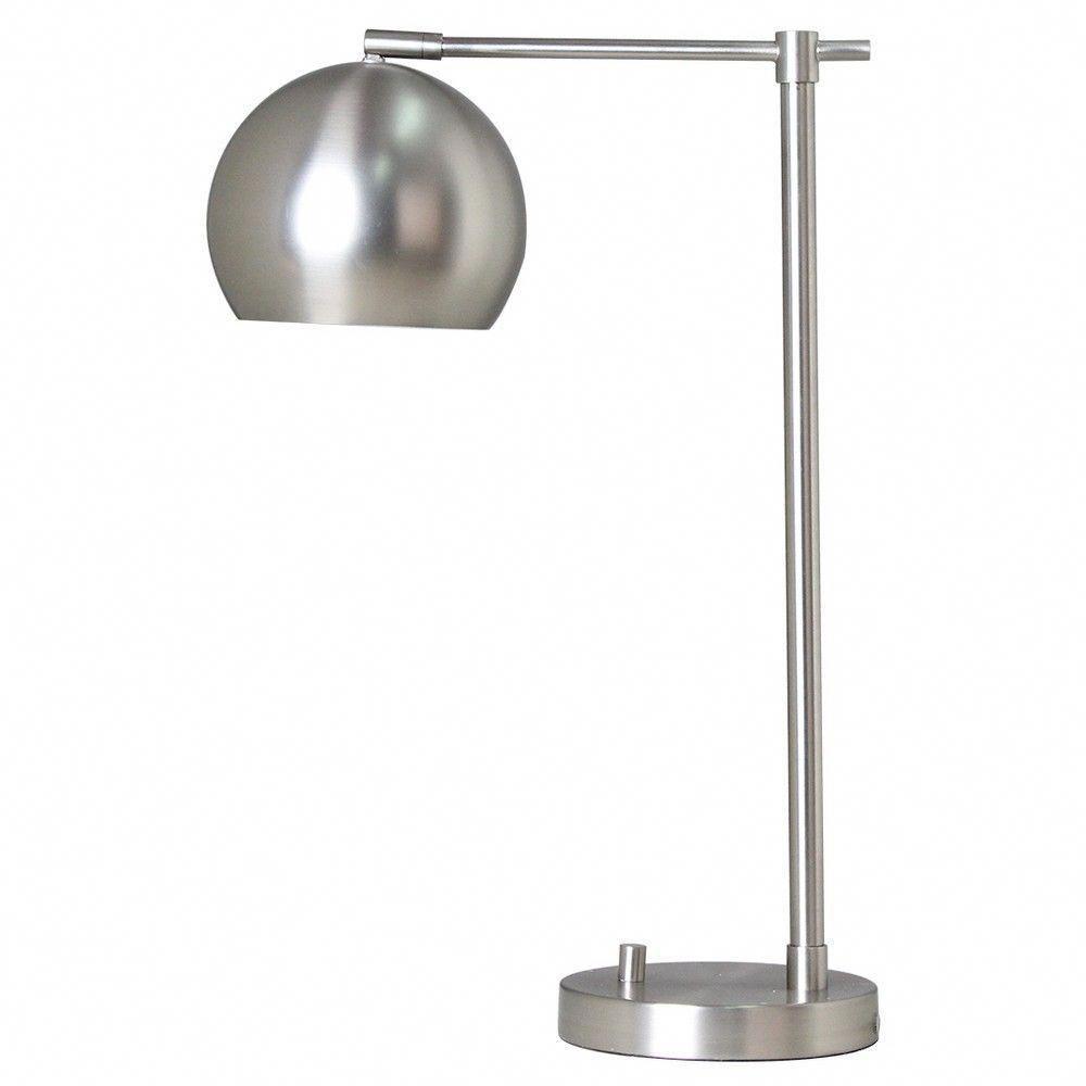 Modern Globe Desk Lamp Silver Lamp Only Project 62