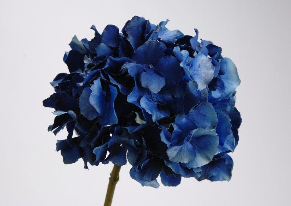 Fleur artificielle hortensia bleu AMADEUS