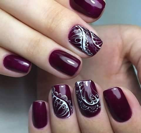 Trendy purple nail art designs purple nail art purple nail and trendy purple nail art designs prinsesfo Choice Image
