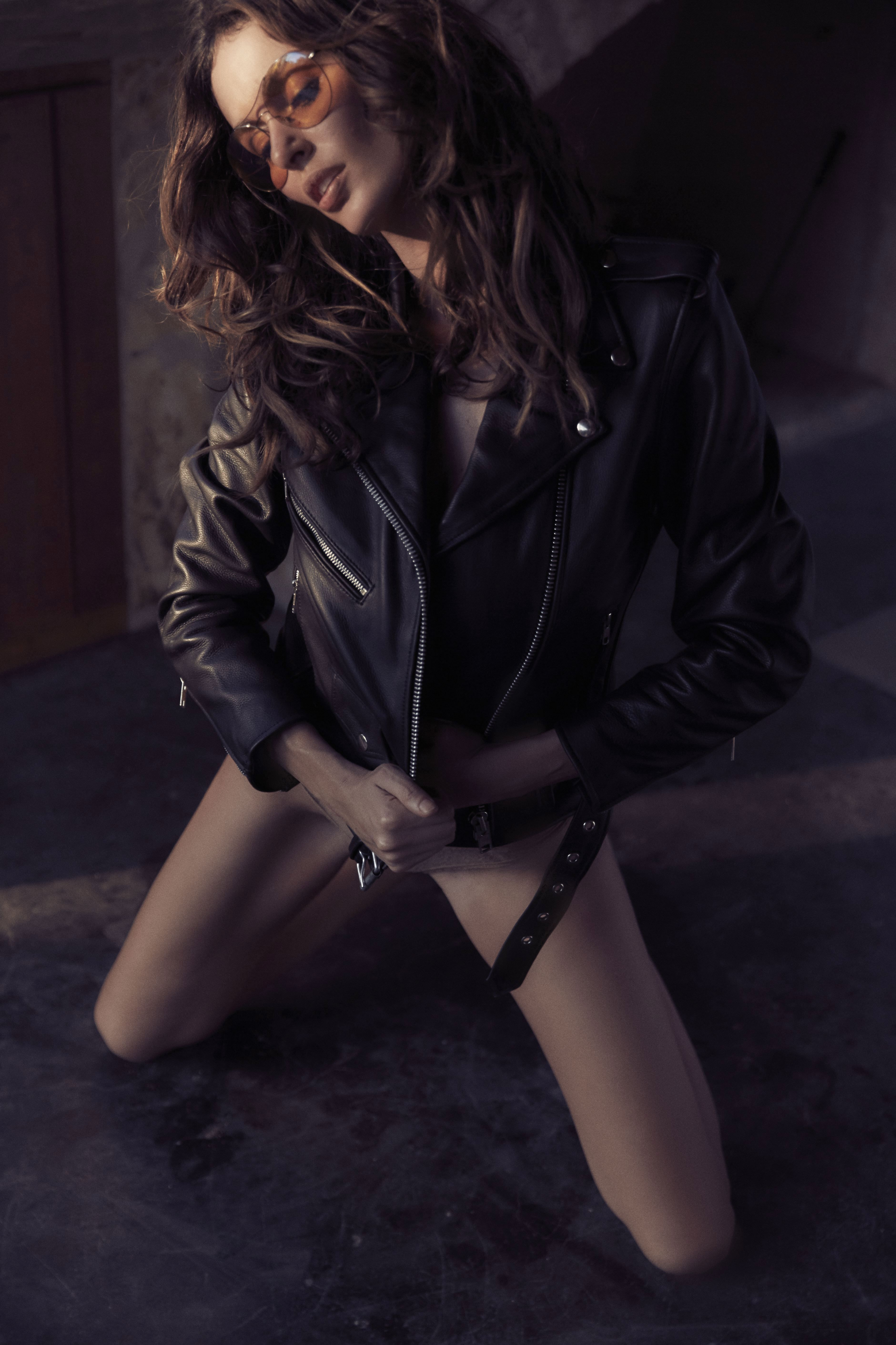 Nicole trunfio understated leather 2015 campaign 2015 by harper smith hq photo shoot - 2019 year