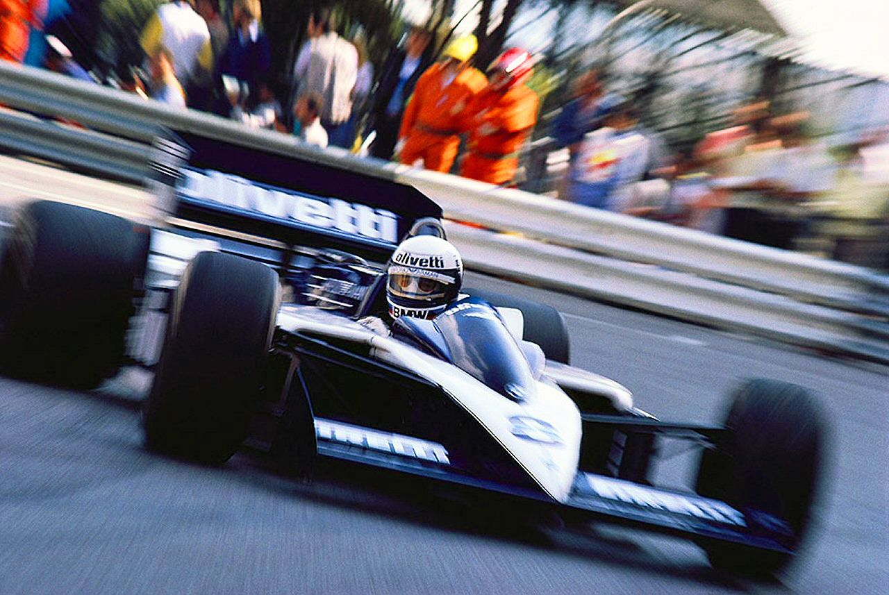 1986 monaco gp elio de angelis in the brabham bt55 racing pinterest monaco cars and. Black Bedroom Furniture Sets. Home Design Ideas