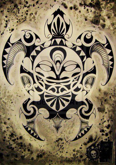Tattoo Sourcebook Phoenix: MAORI TURTLE By ~LARANGEIRAS On DeviantART