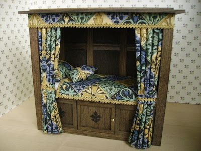 Witch and Wizard Miniatures: Fab Tudor Furniture on Etsy!