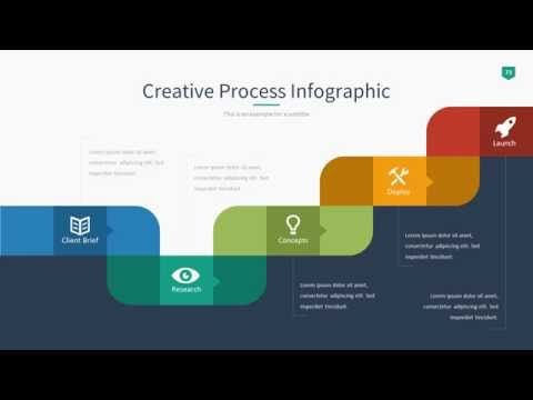 3d Paper Infographic Powerpoint Template Youtube Motion Graphic
