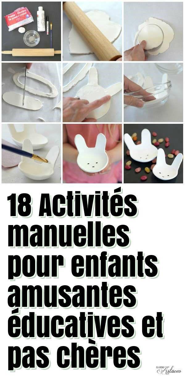 18 activit s manuelles pour enfants amusantes ducatives et pas ch res bricolage kid. Black Bedroom Furniture Sets. Home Design Ideas