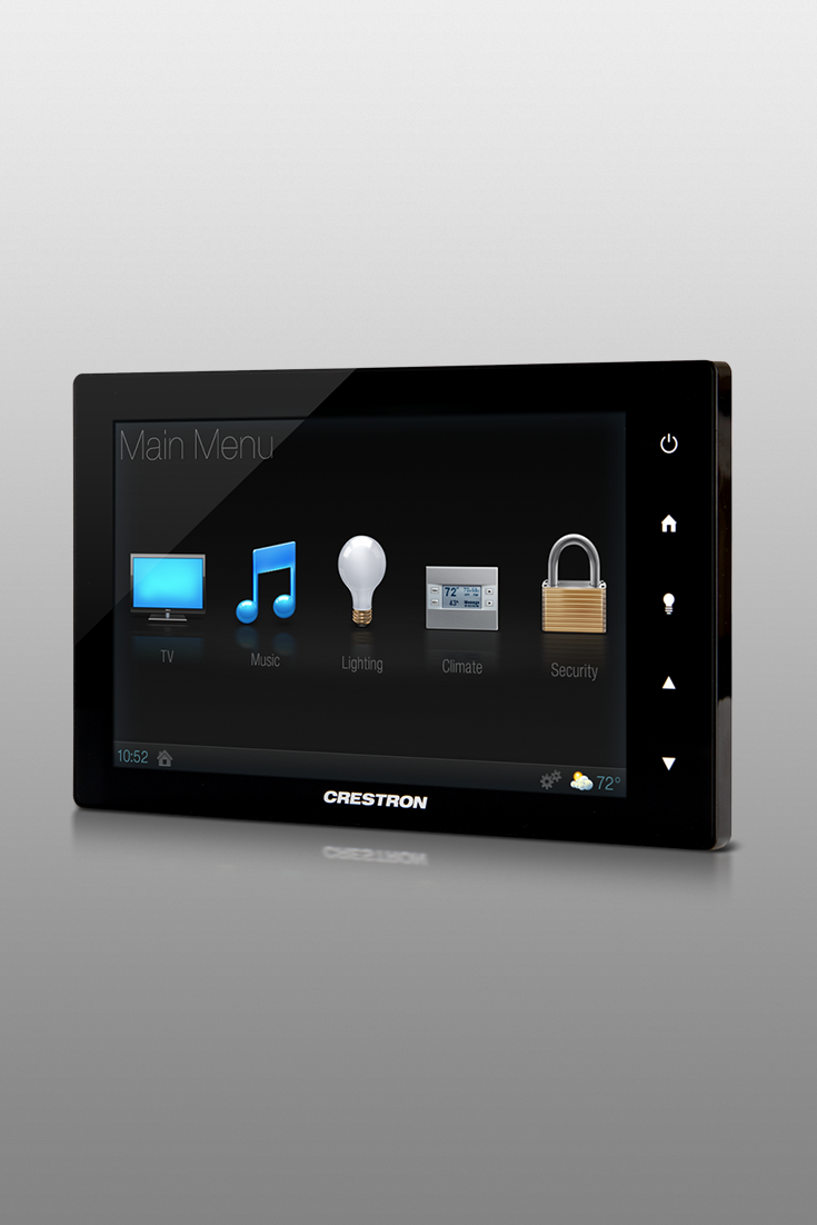 Crestron Tsw 750 Touchscreen Home Automation Smarthome Theater