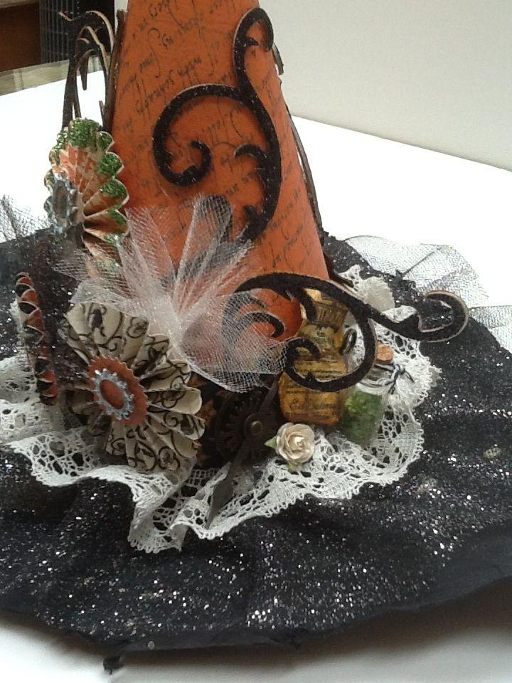 Halloween embellishments sizzix dies a little tim holtz