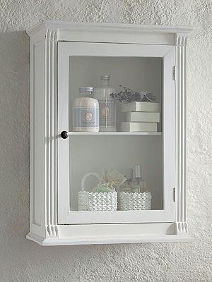 Badezimmer im Landhausstil: Schrank fürs Badezimmer - Wohnen Garten ...