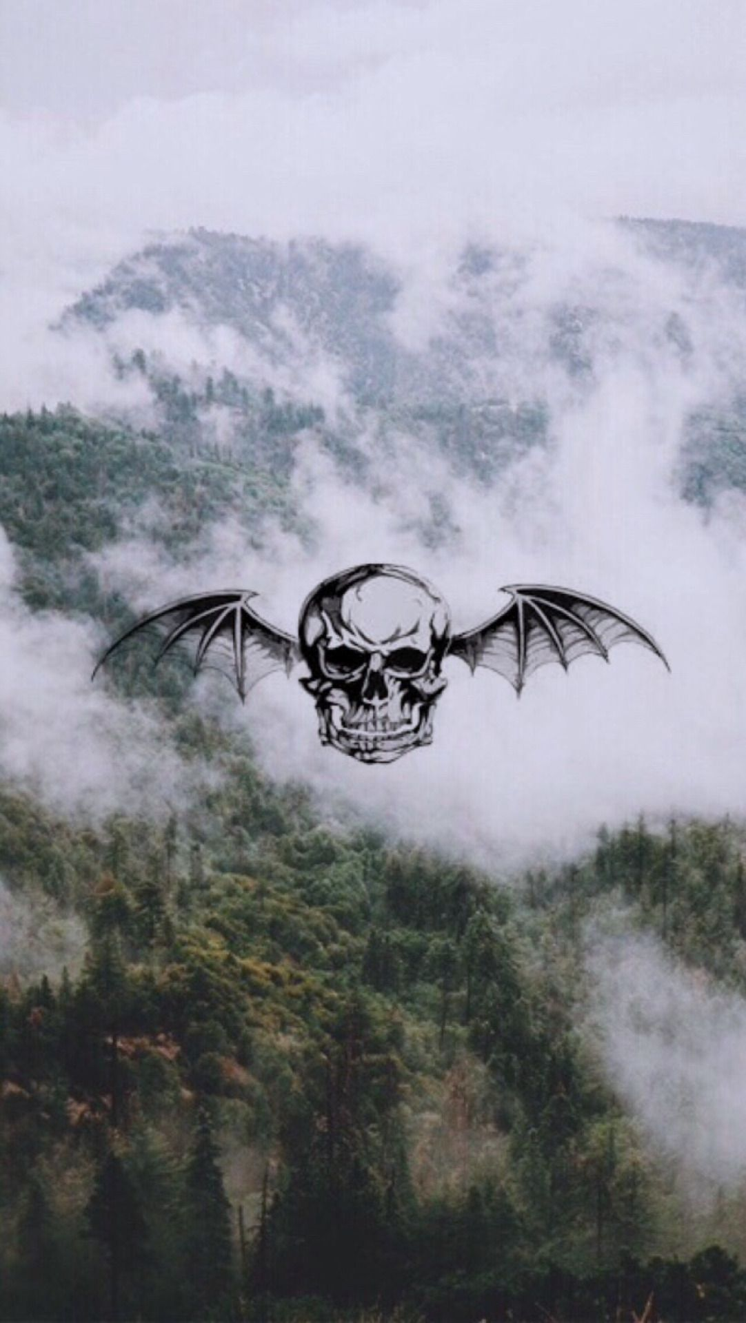 Pretty Epic Deathbat Wallpaper Picture Found On Tumblr Hqlockscreens Avenged Sevenfold Wallpapers Avenged Sevenfold Art Avenged Sevenfold