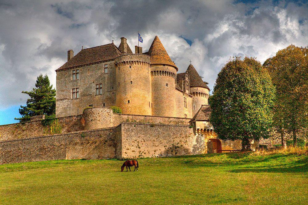 Chateau De Fenelon Chateau France Chateau La Dordogne