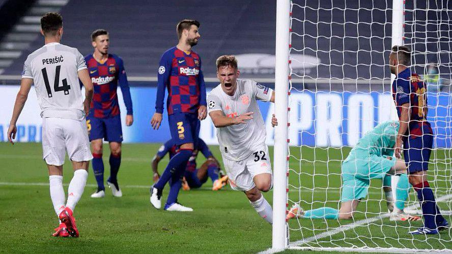 Для Барселоны это поражение стало самым крупным в еврокубков и самым крупным с. 14 08 2020g 1 4 Barselona Bavariya 2 8 Barselona Futbol Bavariya