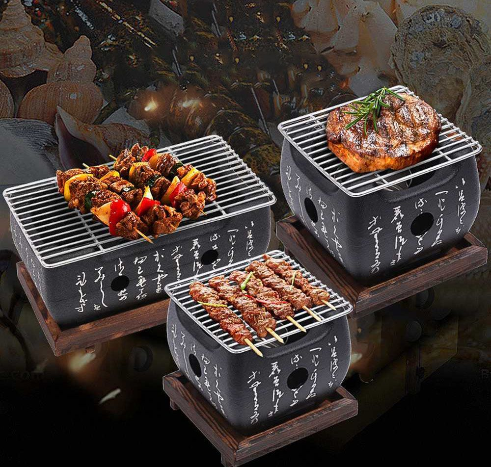Flameo Korean Bbq Grill At Home Yakitori Japanese Grill Trong 2020 ẩm Thực