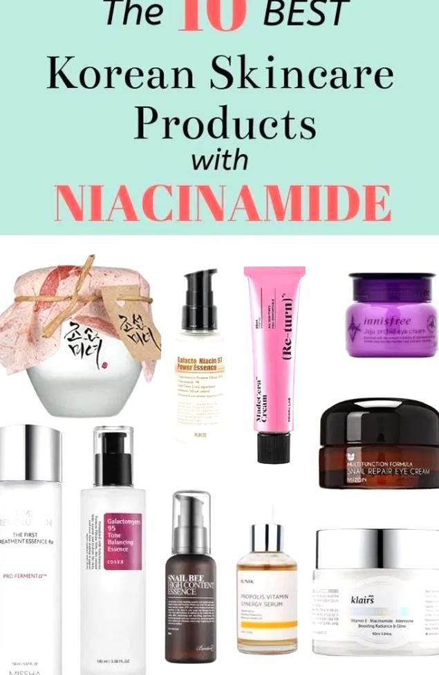 The 10 Best Korean Skincare Products With Niacinamide To Brighten Your Skin Korean Skincare Tips In 2020 Korean Skincare Skin Care Fading Hyperpigmentation