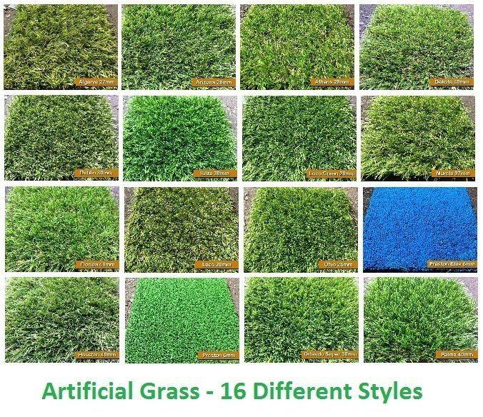 2m X 7m Artificial Garden Grass Realistic Natural Looking Astroturf Lawn Artificial Grass Backyard Artificial Grass Garden Turf Backyard