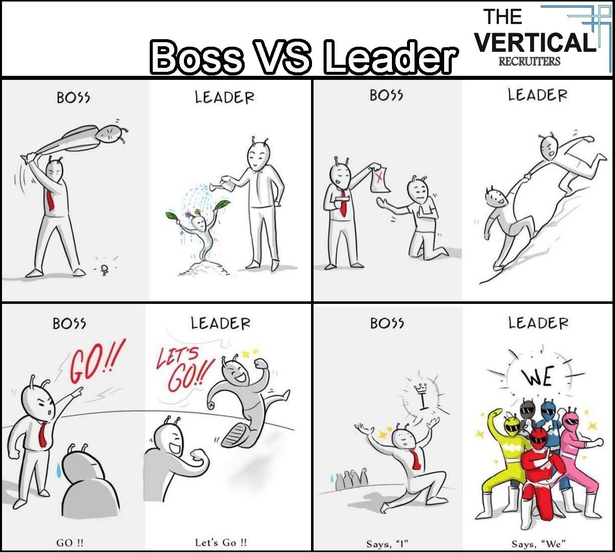 boss vs team leader vertical recruiters pvt boss vs team leader