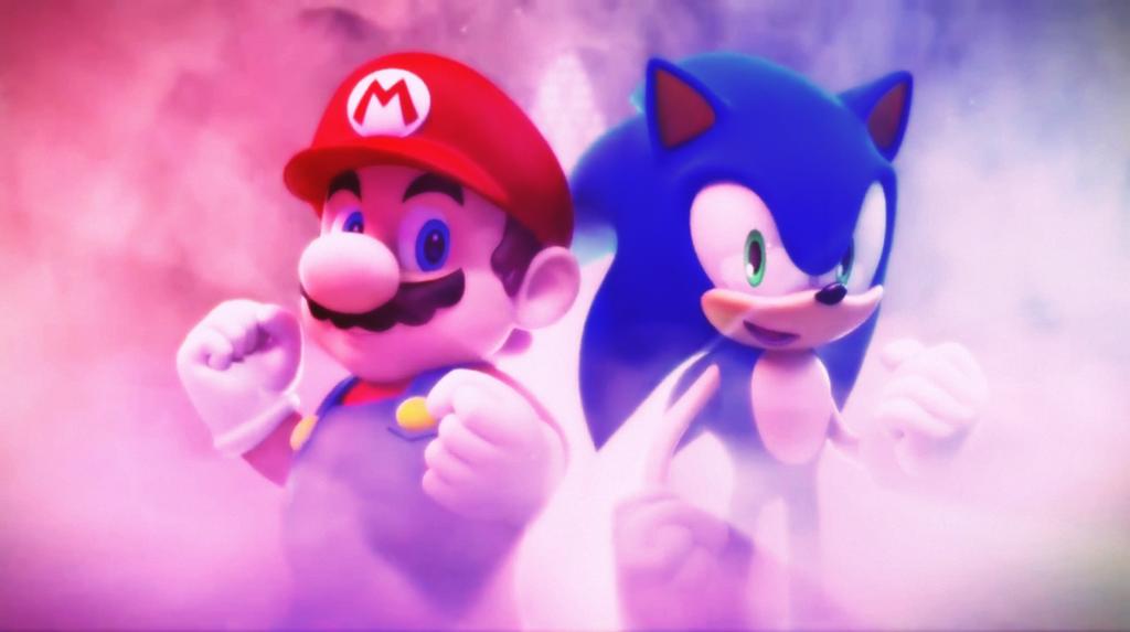 Mario And Sonic Wallpaper By Hinata70756 On Deviantart Mario And