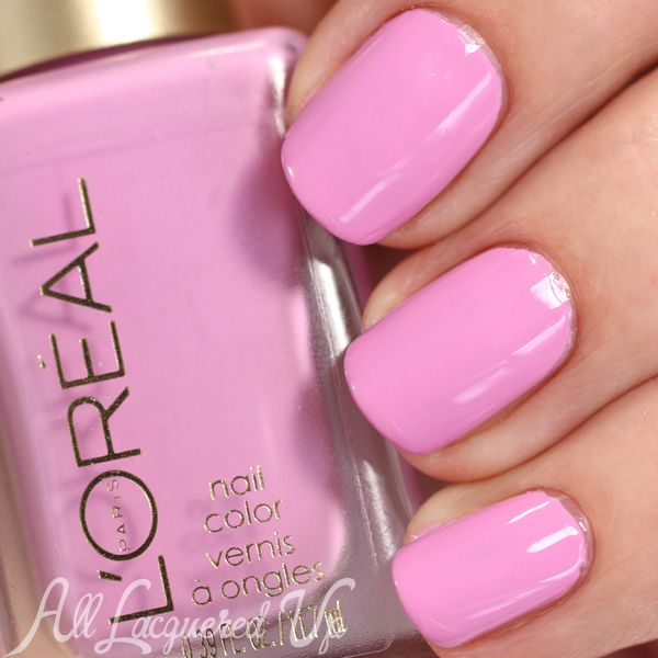 L\'Oreal Spring 2015 Nail Polish Collection - Haute Florals | Florals ...