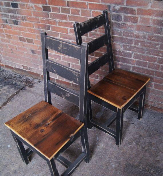 Chair Farm Chair Ladder Back Chair Wooden Chair by FurnitureFarm