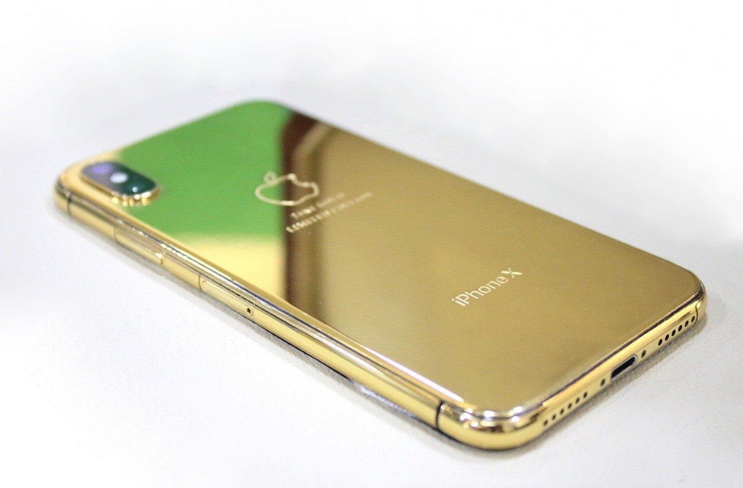 iPhone X 24K Gold Plated   Limited Edition in 2020   Iphone. Golden jewelry. Gold
