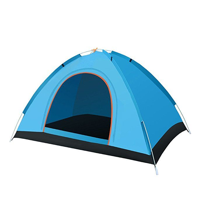 Ironrain Camping Tent Beach Tents 2 Person Waterproof Anti Uv Sun Shelter Cabana Portable Backng Automatic Instant Pop Up With Carry Bag For