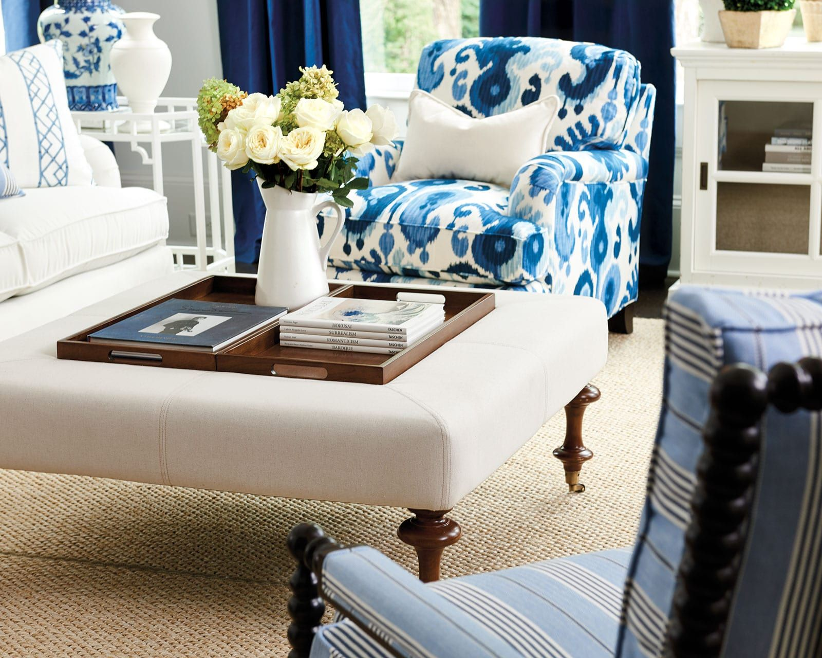 10 Things Every Room Needs Blue And White Living Room Decor Room