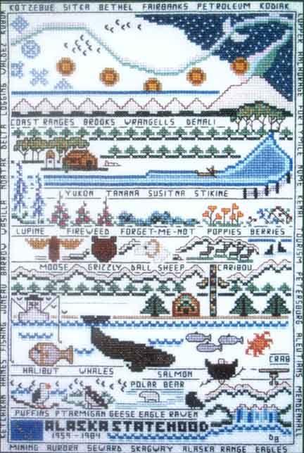 Meredith Mark Cross Stitch Patterns