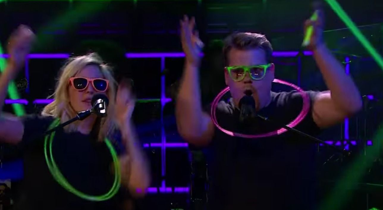 James Cordon And Ellie Goulding Sing 'Love Me Like You Do' In A HILARIOUS Variety Of Styles. - http://www.lifebuzz.com/love-me/