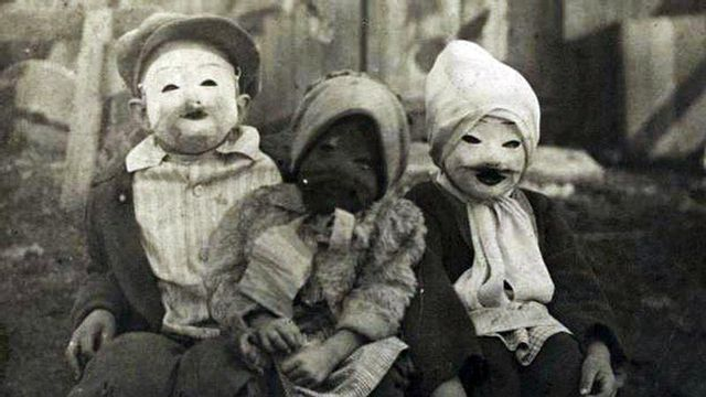 Old Time Halloween Costumes Real Time Creepy Creepy Halloween